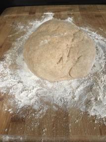 ball of sticky dough